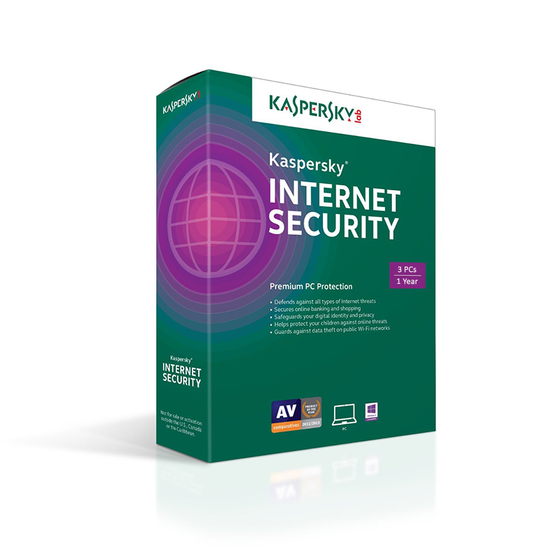 Kaspersky Internet Security 2018 3 PC 1 Year Email Key