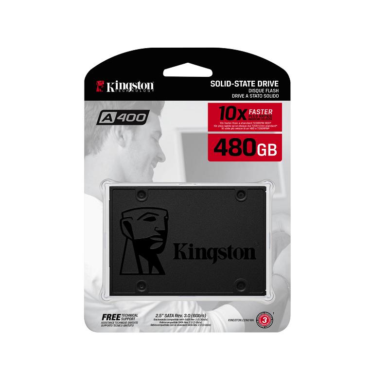 """Kingston SA400S37/480G 480GB SSD 2.5"""" sata"""