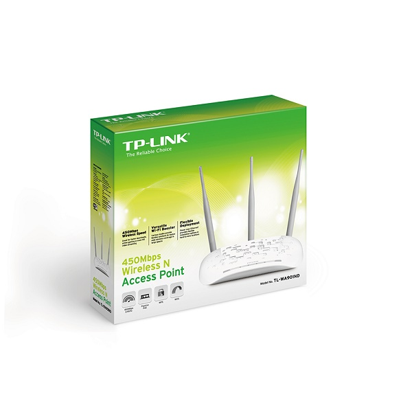 TP-LINK TL-WA901ND V4  N450 ACCESS POINT