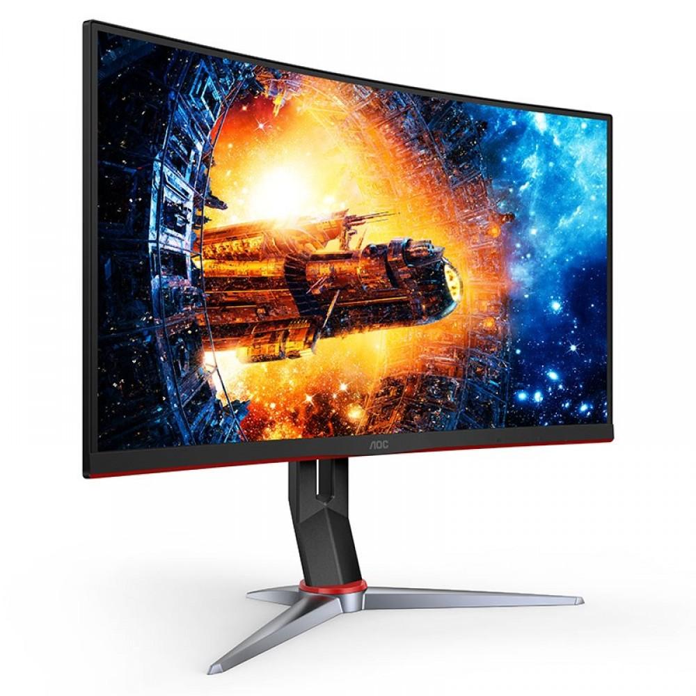 """AOC CQ27G2 27"""" Curved QHD 2560x1440 144Hz Gaming monitor"""
