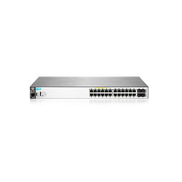 HP 2530-24G-POE+ SWITCH, LAYER 2, 24 X GIG + 4 X SFP PORTS,MANAGED, LIFE WTY