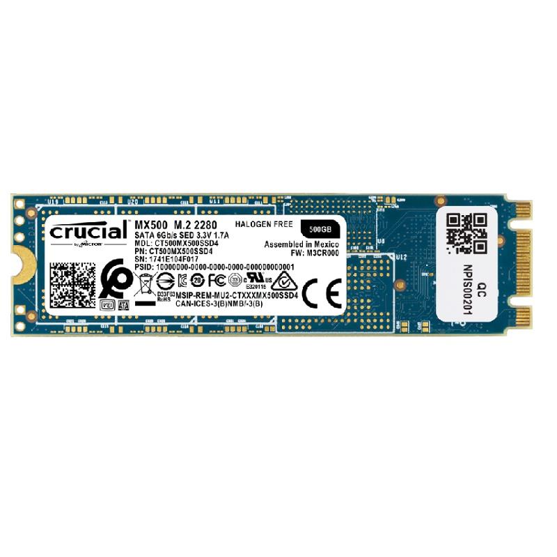 Crucial CT500MX500SSD4 500GB MX500 M.2 SSD
