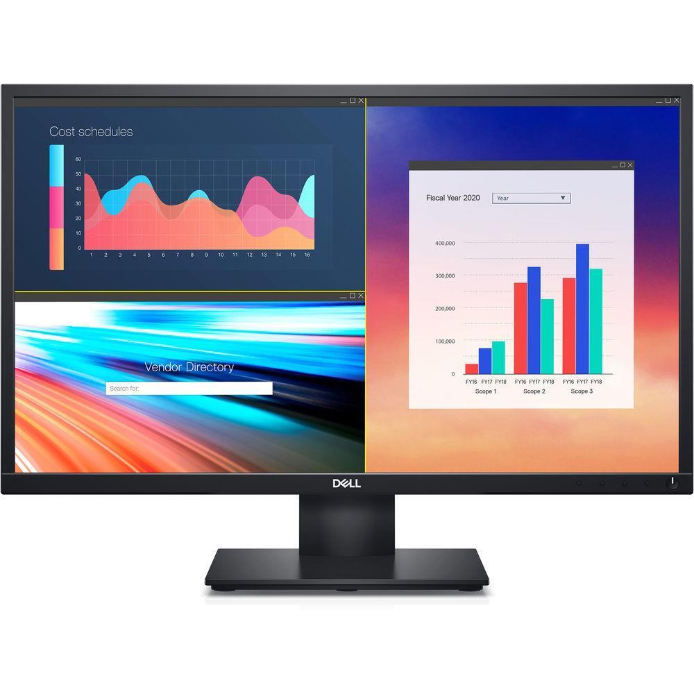 """DELL E-SERIES 23.8"""" (16:9) IPS LED, 1920x1080, 8MS, VGA, HDMI, H/ADJ, TILT, VESA, SPKRS, 3"""