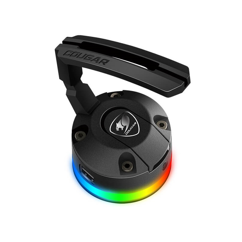 Cougar Bunker RGB Mouse Bungee with RGB lighting & USB Hub