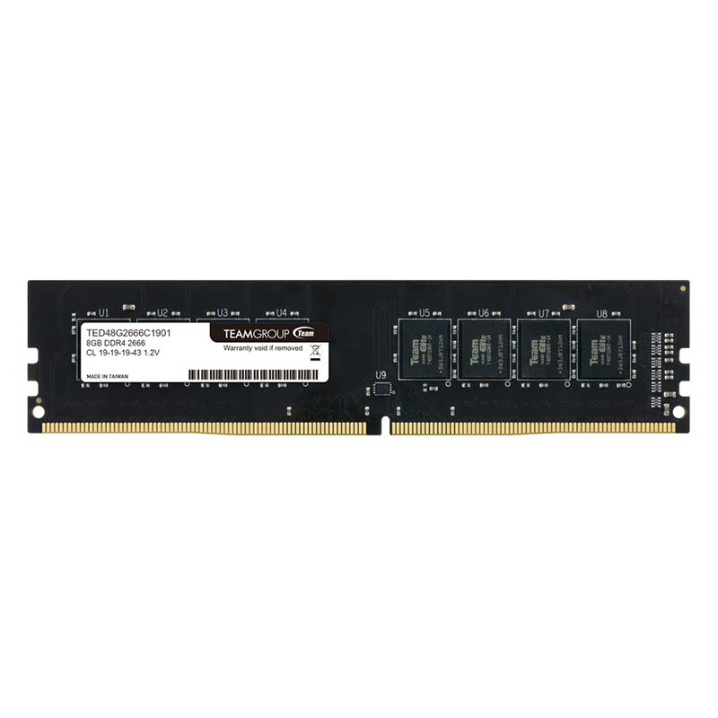 Team TED48G2666C1901 8G DDR4-2666 memory