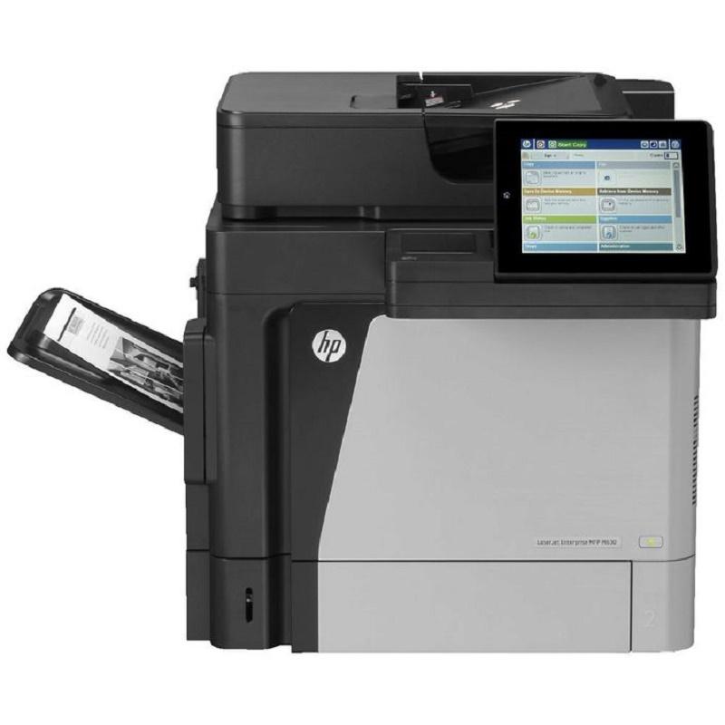 HP LJ M630Z MONO MFP, A4, 60PPM, 5 TRAYS, NETWORK, AUTO DUPLEX, 1YR