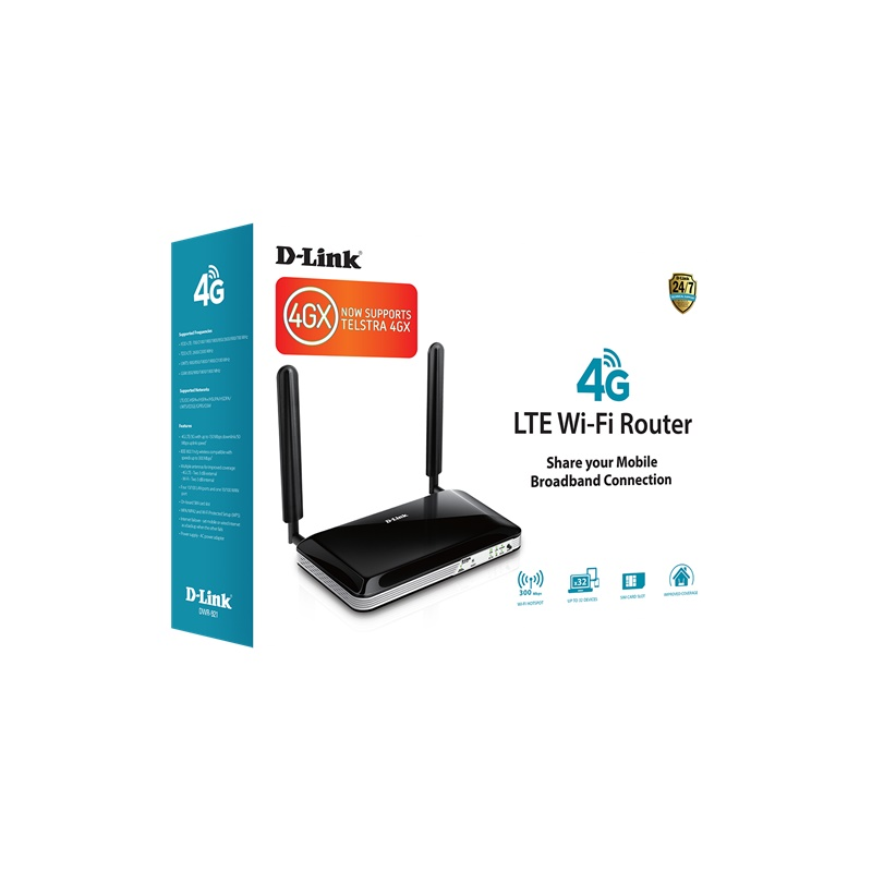 Dlink 4G LTE Router - now with 700MHz 4GX support