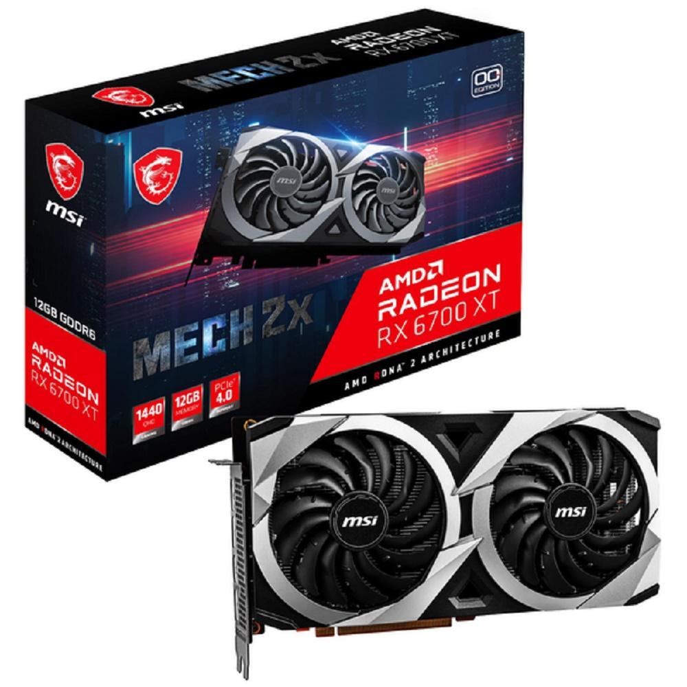 MSI Radeon RX 6700 XT GAMING X 12G RX6700XT video