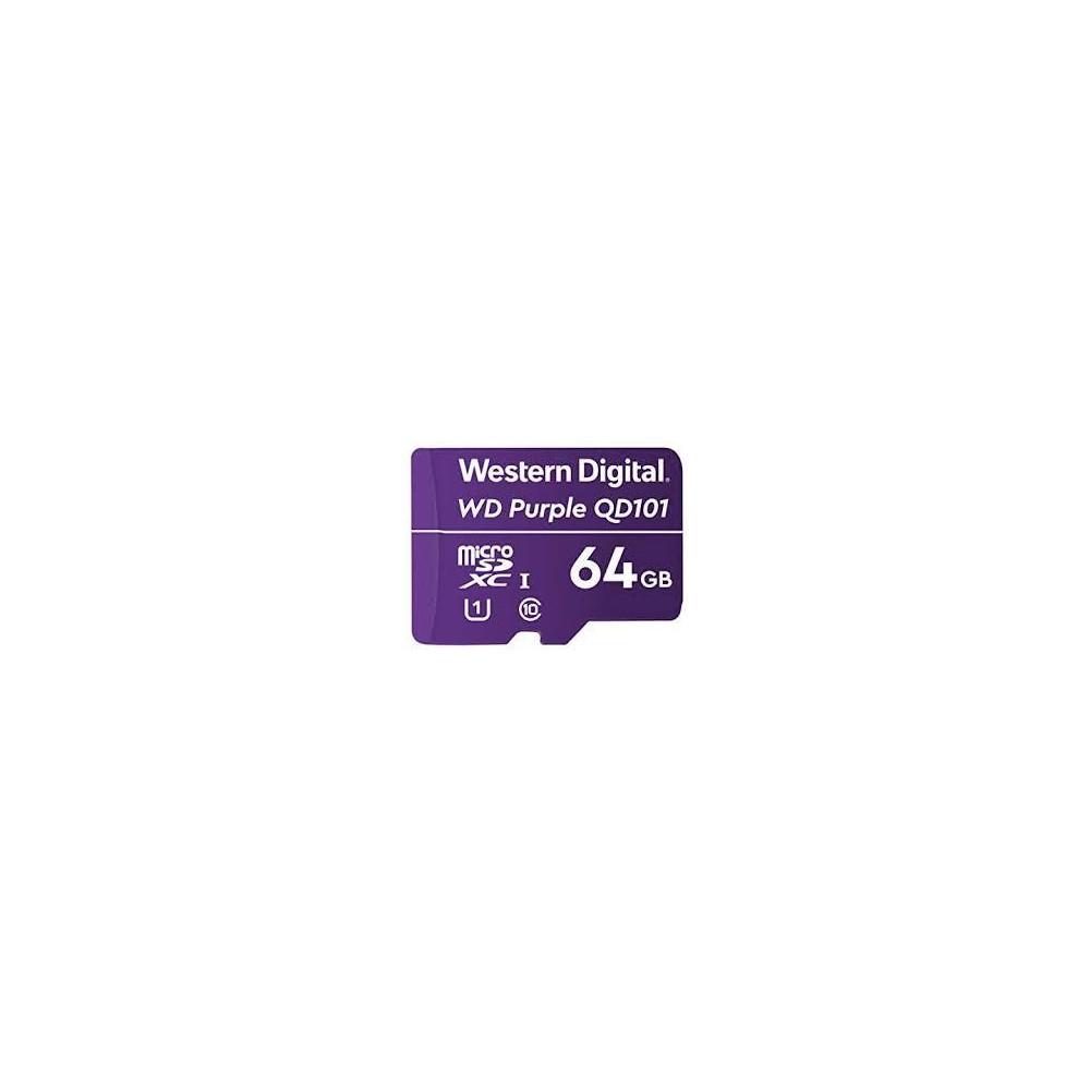 WD Purple 64G Micro SD - WDD064G1P0C