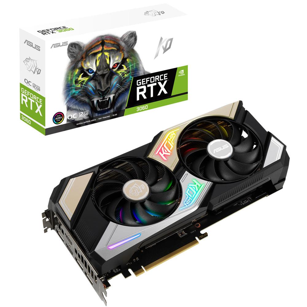 Asus KO-RTX3060-O12G-V2-GAMING RTX3060 LHR 12G video OC