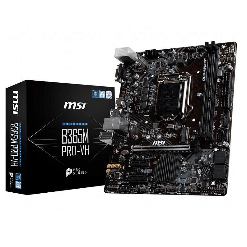 MSI B365M PRO-VH skt 1151 VGA HDMI Motherboard