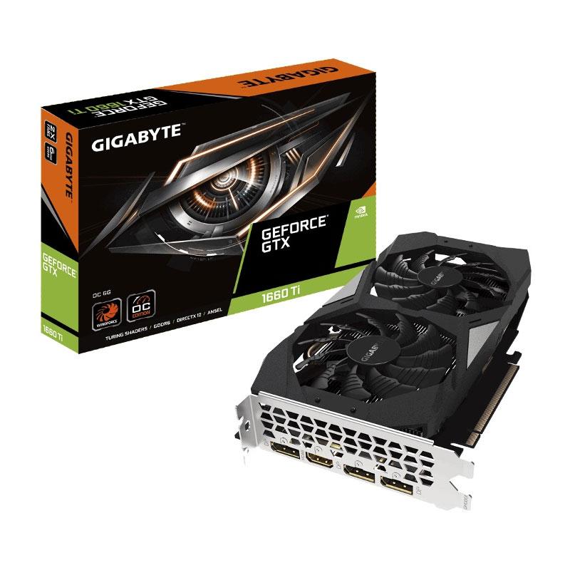 Gigabye N166TOC-6GD GTX1660 Ti 6GB video card
