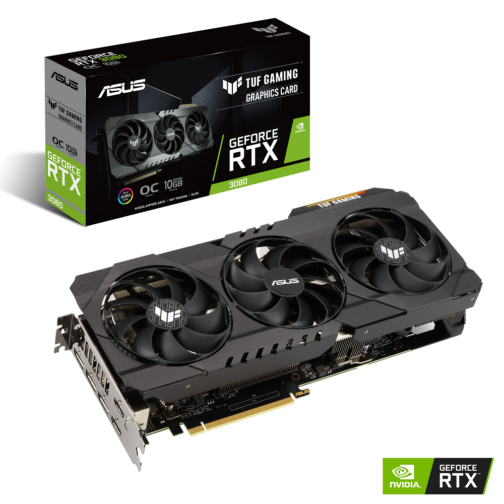 Asus TUF-RTX3080-O10G-GAMING RTX3080 Not LHR video card