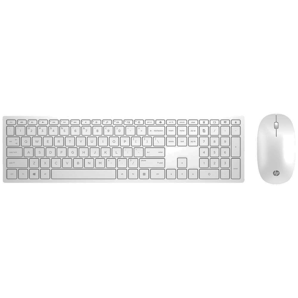 HP WHT PAV WLCombo Keyboard 800