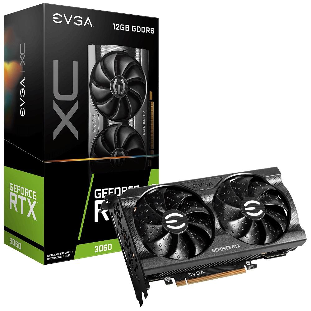 EVGA 12G-P5-3657-KR RTX3060 12GB Not LHR video card