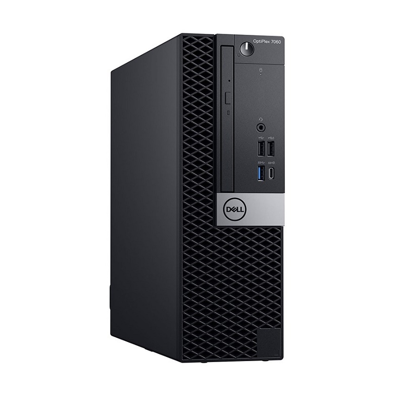 DELL OPTIPLEX 7060 SFF, i7-8700, 8GB, 512GB SSD, DVDRW, NO-WL, W10P, 3YOS