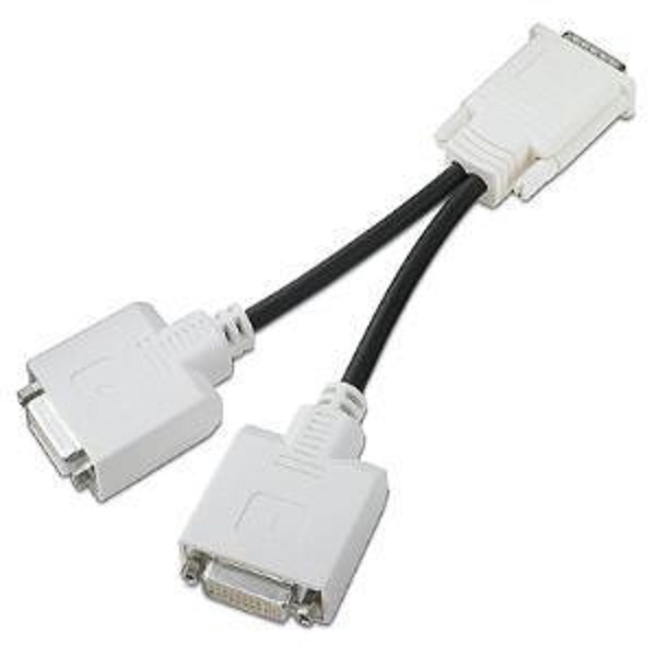 HP DMS-59 TO DUAL DVI CABLE KIT, 2X 24-PIN DIGITAL DVI (FEMALE), 1X DMS-59 (MALE)