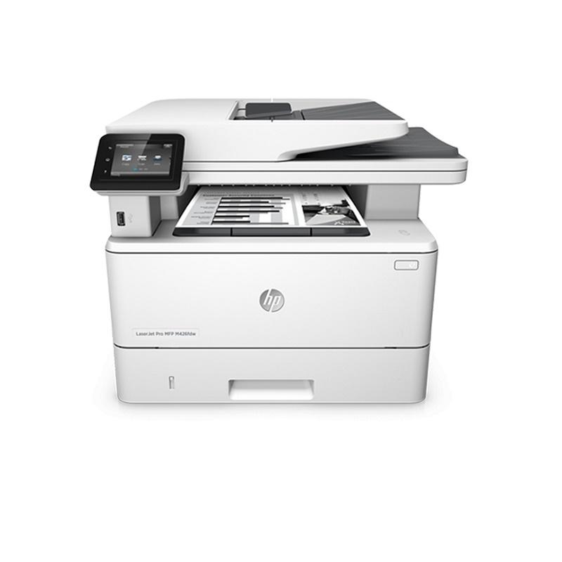 HP LASERJET PRO M428FDN MONO MFP, 38PPM, FAX, DUPLEX, NETWORK ONLY - NOT WIFI - 1YR