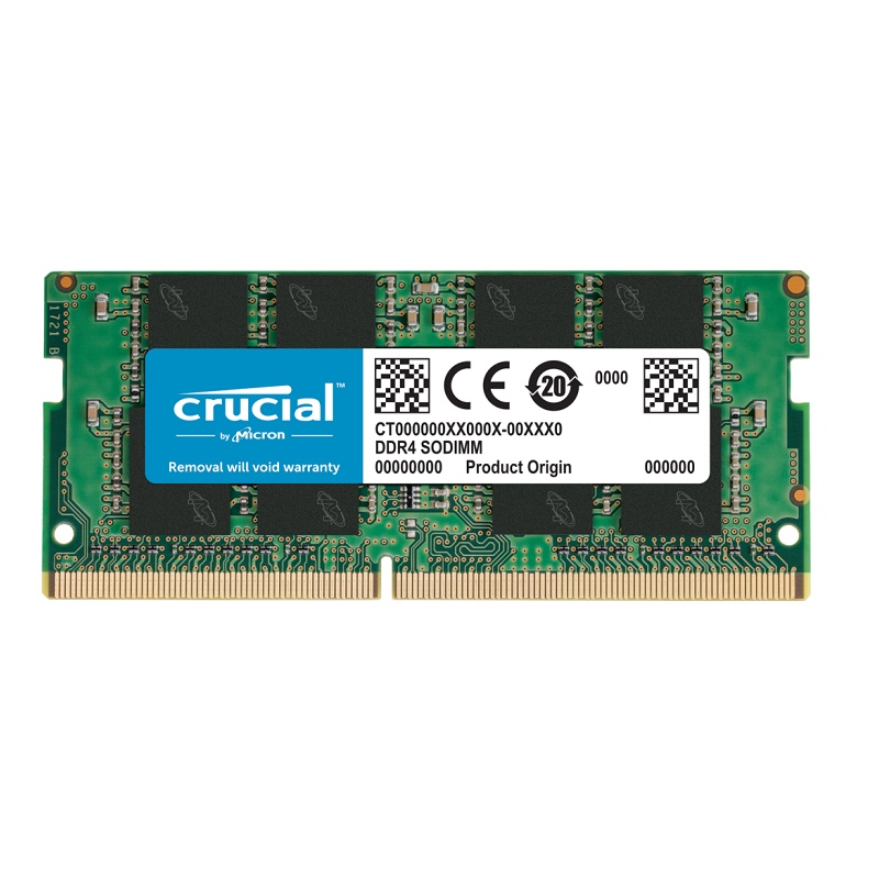 (Sodimm) Crucial CT8G4SFS8266 8G DDR-2666 Sodimm Memory