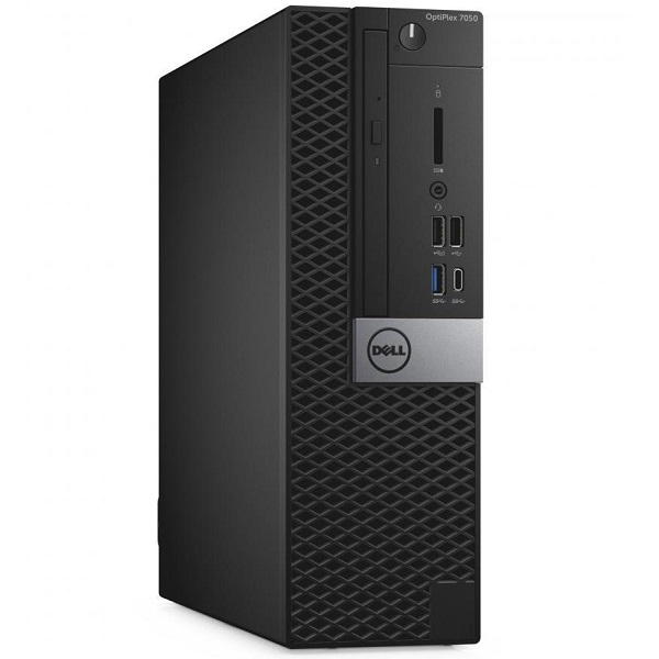 DELL OPTIPLEX 7050 SFF, i5-7500, 8GB, 1TB HDD, DVDRW, NO-WL,W10P, 3YOS