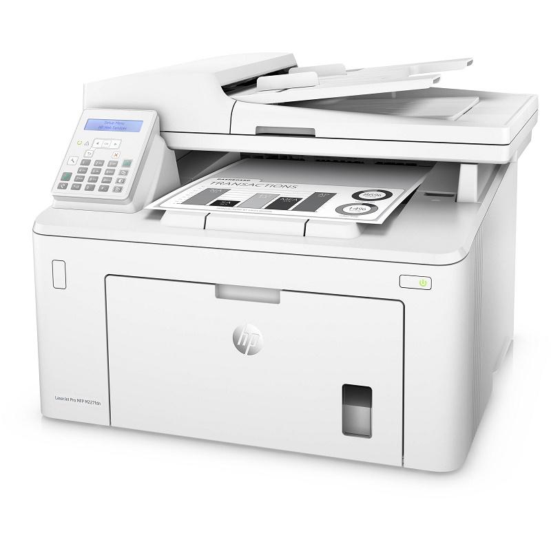 HP LASERJET PRO M227FDN MONO MFP, A4, 28PPM, DUPLEX, FAX, NETWORK ONLY - NOT WIFI. 1YR