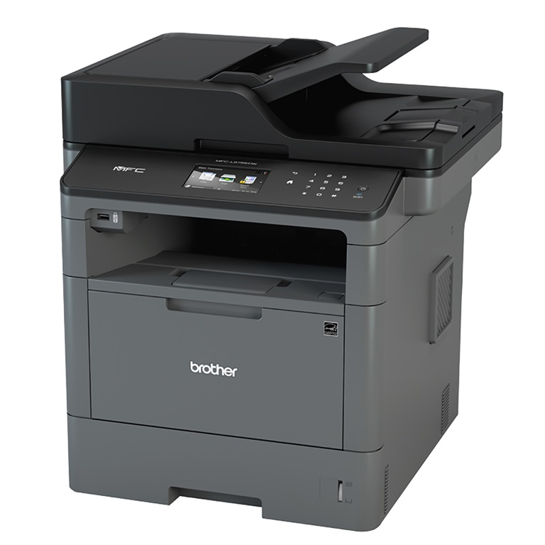 Brother BROTHER MFC-L5755DW WIRELESS HIGH SPEED MONO LASER MULTI-FUNCTION CENTRE WITH 2-Sided PRINTING &SCAN