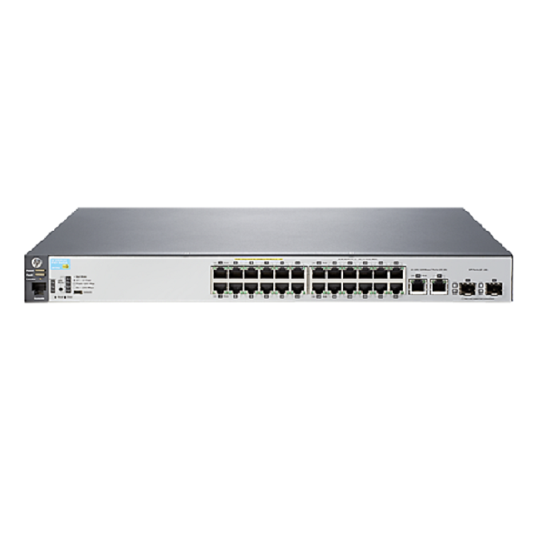HP 2530-24-POE+ SWITCH, LAYER2, 24 X 10/100 + 2 X SFP PORTS, MANAGED, LIFE WTY