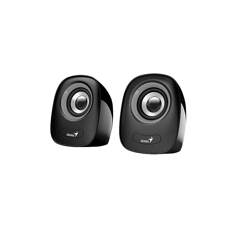 Genius SP-Q160 Grey/Black 3.5mm 6W 2.0 USB powered Speaker