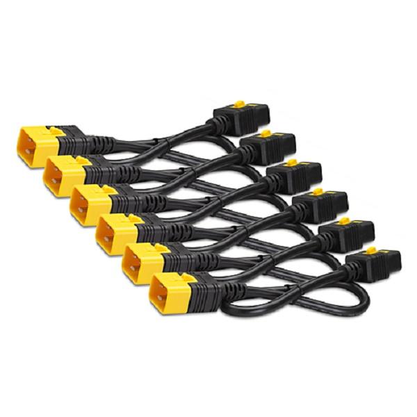 APC (AP8716S) POWER CORD KIT (6 EA), LOCKING, C19 TO C20, 1.8M BLACK