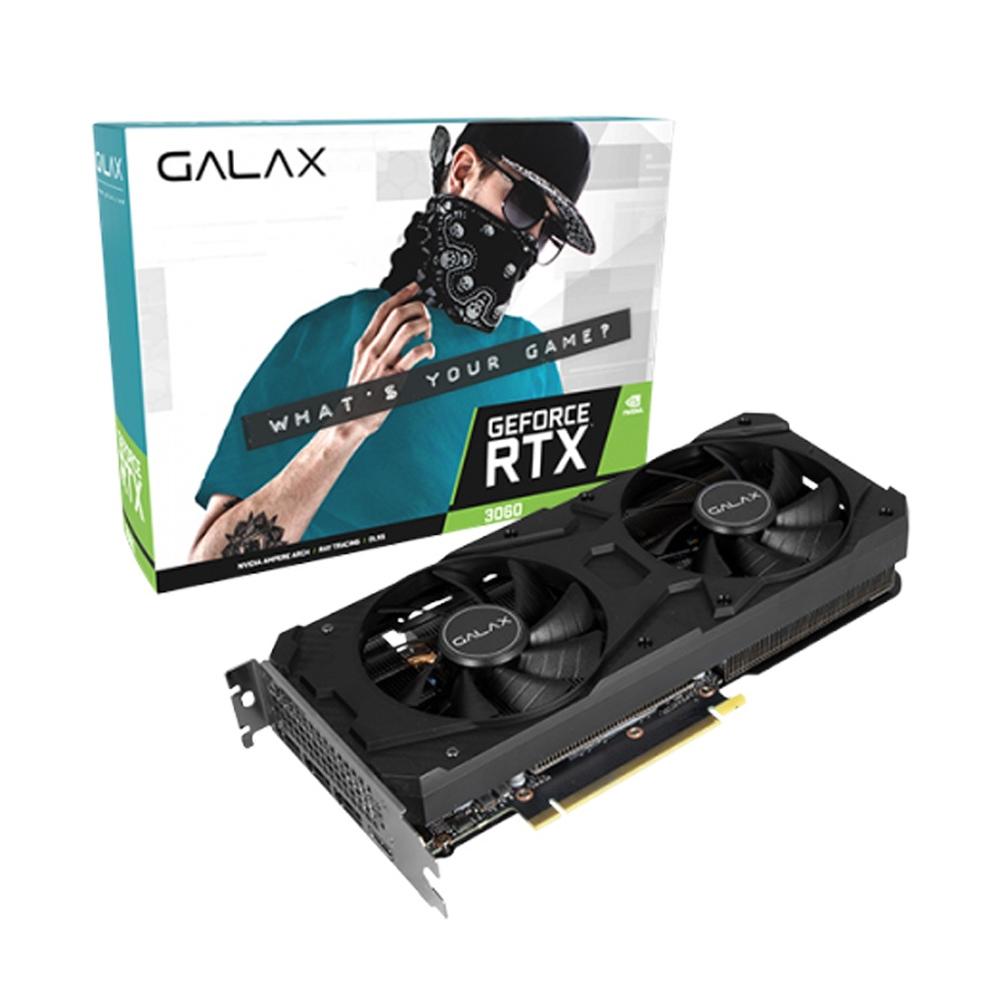 Galax RTX3060-1-CLICK-OC-12GB-V2 RTX3060 12G LHR video