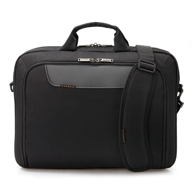 """Everki EKB407NCH17 17"""" Briefcase Black Notebook Case"""