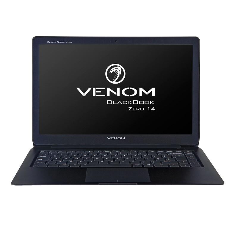 """VENOM BLACKBOOK ZERO 14 I5-7Y54 8GB, 240GB SSD, 14.1"""" FHD, WL, BT, W10P 64, 3YR P&R"""