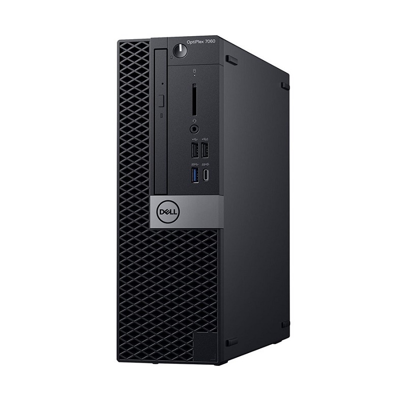 DELL OPTIPLEX 7060 SFF, i7-8700, 8GB, 256GB SSD, DVDRW, NO-WL, W10P, 3YOS