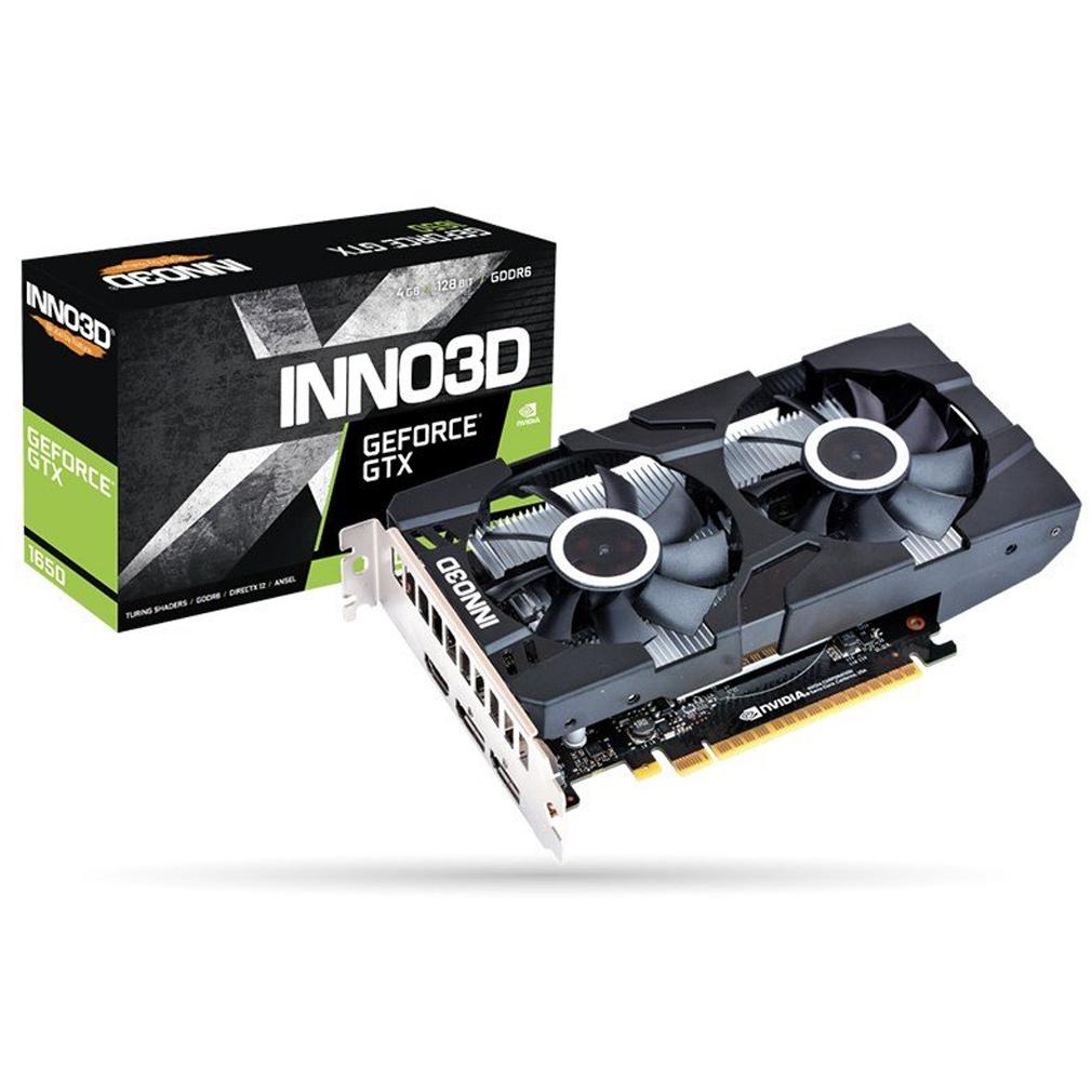Inno3D N16502-04D6X-1177VA25 GTX1650 4GB GDDR6 video