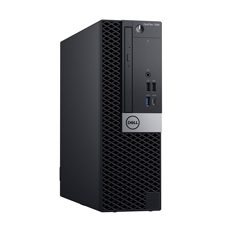 DELL OPTIPLEX 7060 SFF, i7-8700, 8GB, 1TB, DVDRW, NO-WL, W10P, 3YOS