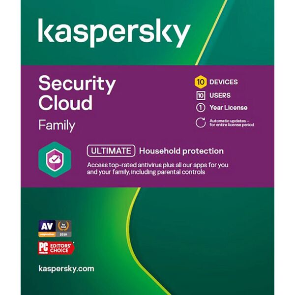 KL1925ECNFS Kaspersky Security Cloud Family 10 devices 1Y