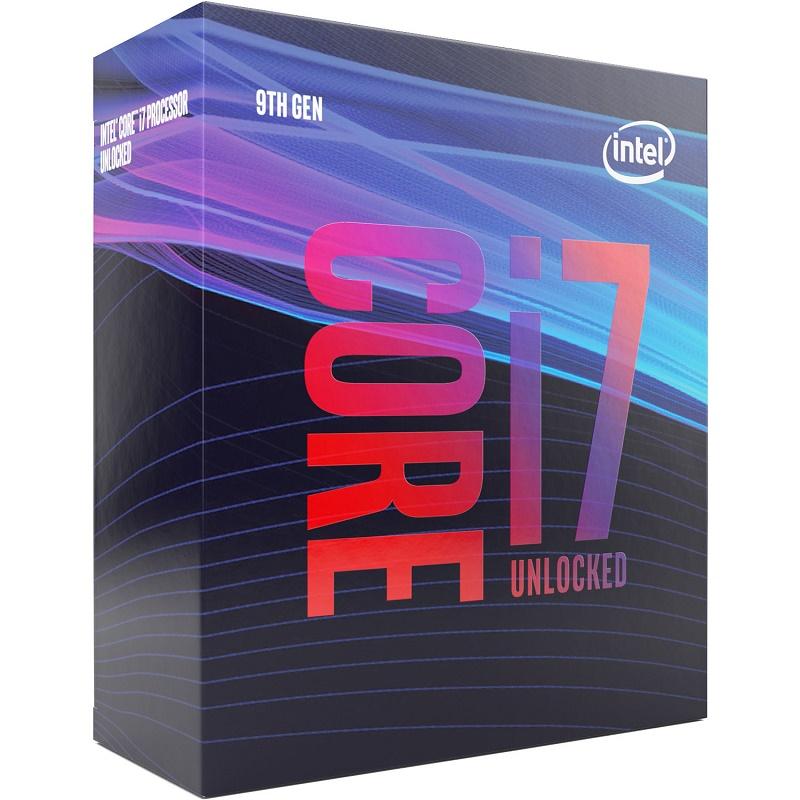 Intel i7 9700K BX80684I79700K 4.9G Octa CPU (Only w Z390 MB)