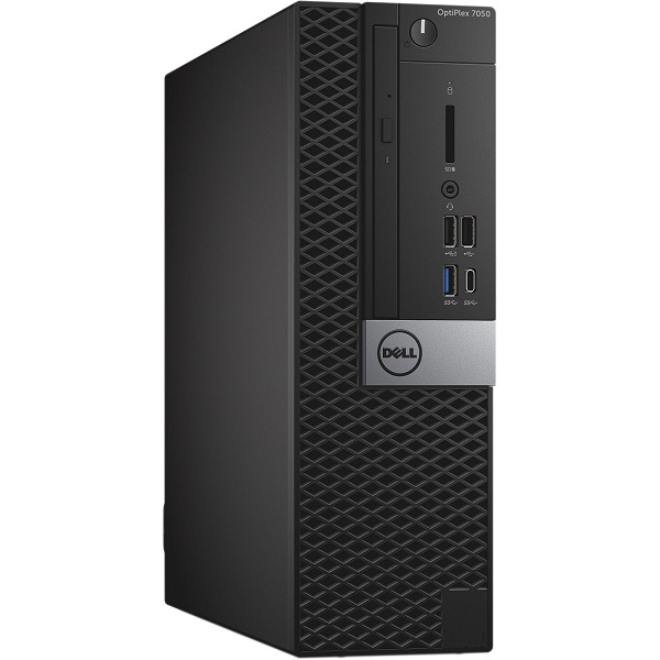 DELL OPTIPLEX 7050 SFF, i5-7500, 8GB, 128GB SSD, DVDRW, NO-WL, W10P, 3YOS.