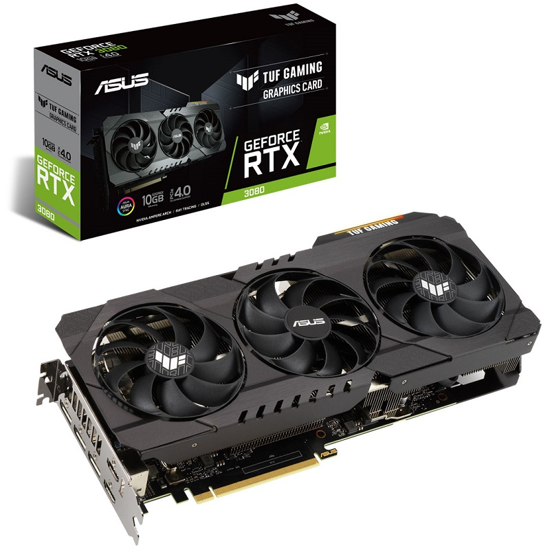 Asus TUF-RTX3080-10G-GAMING RTX3080 Not LHR video card