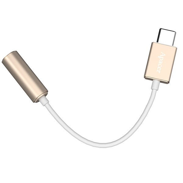 APACER USB3.0 Type C to 3.5 Audio Cable GOLD