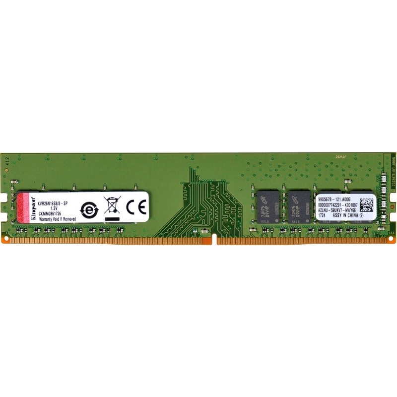 Kingston KVR26N19S8/8 8G DDR4-2666 memory
