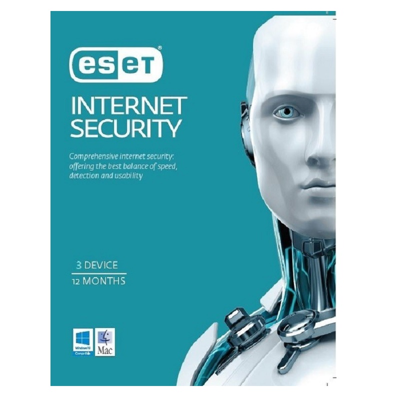 ESET Internet Security 3 Device 1 Year Email key