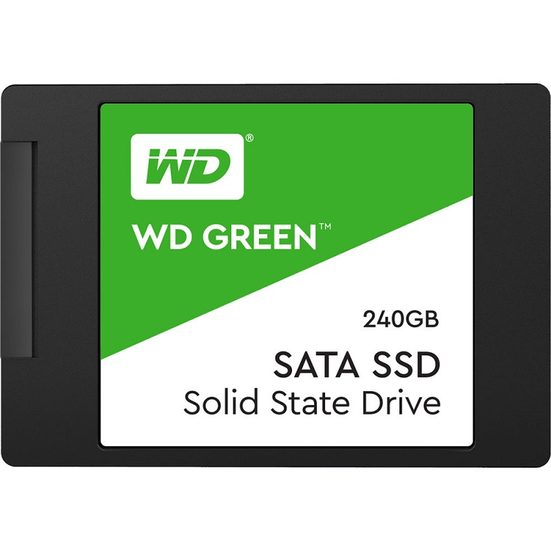 """WD WDS240G2G0A 240G Green 2.5"""" SSD"""