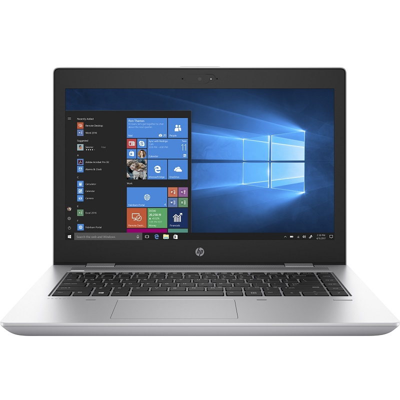 "HP 640 G4 I5-8350U 8GB, 256GB SSD 14"" FHD SUREVIEW, WL, W10P 64, 1YR"