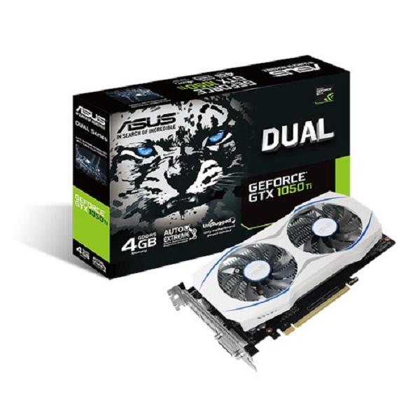 ASUS DUAL-GTX1050TI-4G  GTX1050 Ti 4GB VIDEO CARD
