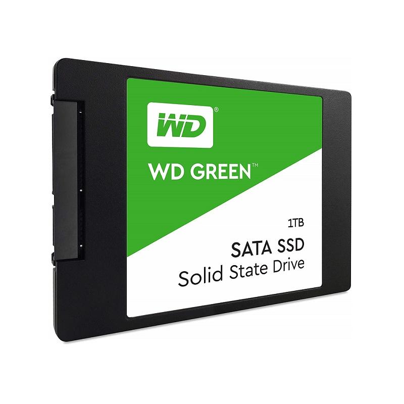 "Western Digital WD WDS100T2G0A Green 1TB  2.5"" SSD"